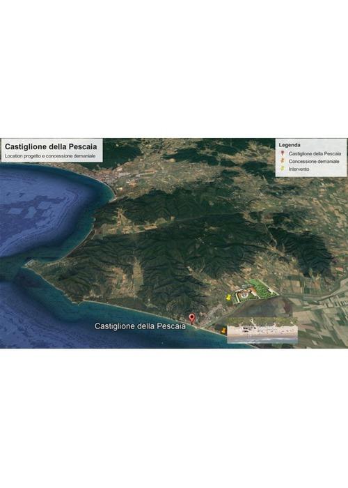 Progetto per area turistico ricettiva e residenziale sul mare.